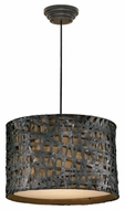 Uttermost 21104 Alita Pendant Light in Black