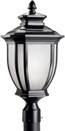 Kichler 9938BK Salisbury 22 Inch Fluorescent Outdoor Post Light