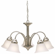 Kichler 2093 Wynberg 5 Lamp Transitional Downlight Chandelier Lamp