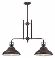 Quoizel EVE240PN Eastvale 40 Inch Wide 2 Lamp Palladian Bronze Island Lighting