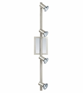 EGLO 200094A Rottelo Matte Nickel Finish Linear 4 Lamp Monorail Lighting - 30 Inches Wide