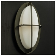 PLC 8016 Aqua Contemporary Style Fluorescent Outdoor Wall Light