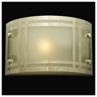PLC 3601 Olso Contemporary Fluorescent Outdoor Wall Light