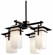 Kichler 49638OZ Caterham 4-lamp Indoor/Outdoor Chandelier Lighting