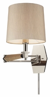 ELK 31332/1 Jorgenson Polished Nickel Swing Arm Modern Wall Lamp