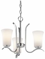 Kichler 43073 Armida Small 3-light Chandelier Light