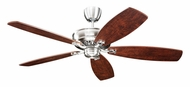 Monte Carlo Fans 5RYEP Royalton Transitional English Pewter Finish Home Ceiling Fan With Blade Options