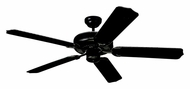 Monte Carlo Fans 5WF52BK Weatherford Matte Black 52 Inch Wide Transitional Outdoor Ceiling Fan