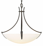 Feiss F1889-3-ORB Boulevard Collection 3 Light 24 inch Pendant Fixture