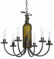Meyda Tiffany 112640 Tuscan Vineyard Rustic Six-Light Chandelier