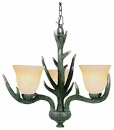 Trans Globe 7080 The Olde World 3-light Rustic Style Chandelier