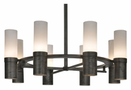 Meyda Tiffany 113077 Farmington 16 Lamp Antique Iron Finish 61 Inch Diameter Transitional Chandelier