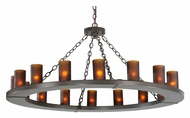 Meyda Tiffany 112326 Loxley 16 Lamp Timeless Bronze Finish 48 Inch Diameter Chandelier Lighting