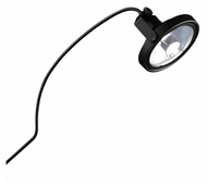 Jesco AHCR155-BKBK Otis Modern Black Finish Clamp Arclight 18 Inch Long Exhibit Light