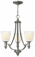 Hinkley 4023AN Truman 4-Light Hanging Chandelier - Brushed Nickel
