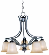 Maxim 10176WSOI Madera Oil-Rubbed Bronze 5-light Downfacing Chandelier Light