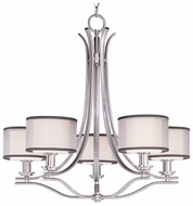 Maxim 23035SWSN Orion Medium Contemporary Satin Nickel Chandelier Light