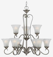 Quoizel DH5009AN Duchess 9-Light Chandelier in Antique Nickel