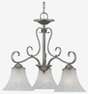 Quoizel DH5103AN Duchess 3-Light Chandelier in Antique Nickel