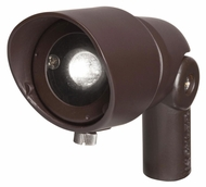 Kichler 16004BBR 35 Degree Flood 4W LED Outdoor Accent Light Fixture - Bronzed Brass