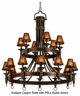 Kalco 4208 Americana 18-Light Colonial Chandelier