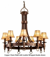 Kalco 4209 Americana 9-Light Colonial Chandelier