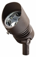 Kichler 16006AZT Textured Architectural Bronze 6.5W LED Outdoor Accent Spot Light