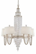 Corbett 106010 Viceroy 10-Lamp Crystal Chandelier in Antique Silver