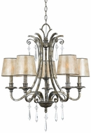 Quoizel KD5005MM Kendra Five Lamp Chandelier