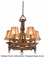 Kalco 4205 Americana 5-Light Colonial Chandelier