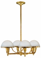 Hudson Valley 3314 Stratford 4-Light Nautical Chandelier