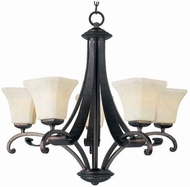 Maxim 21065FLRB Oak Harbor 5 Light Chandelier