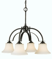 Feiss F2251-4 Barrington 4 Light Chandelier