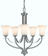 Feiss F2252-5 Barrington 5 Light Chandelier