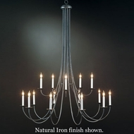 Hubbardton Forge 19-104315lc Simple Sweep 15-Light Chandelier