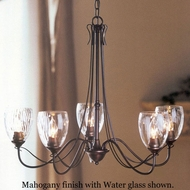 Hubbardton Forge 425052 Trellis 5-Light Water Glass Chandelier