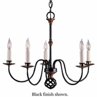 Hubbardton Forge 1516032 Ball Basket 5-Light Chandelier