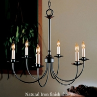 Hubbardton Forge 1884927 Simple Lines 6-Light Chandelier