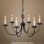 Hubbardton Forge 108060 Twist Basket 6-Light Candelabra Chandelier