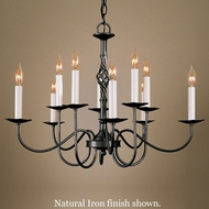 Hubbardton Forge 2264779 Twist Basket 10-Light Candelabra Chandelier