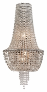 Corbett 141-13 Vixen 25 Inch Tall Crystal Wall Lighting - Polished Nickel