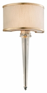 Corbett 166-12 Harlow 2 Light LED 10 Inch Wide Small Wall Sconce Light