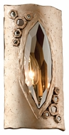 Corbett 168-11 After Party Topaz Leaf 11 Inch Tall Modern Lamp Sconce