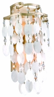 Corbett 109-11 Dolce Two Light Wall Sconce - 14 inches tall