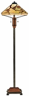 Quoizel TF9404M Grove Park Tiffany Floor Lamp in Multi