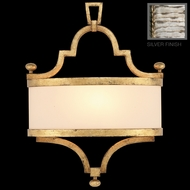Fine Art Lamps 440250 Portobello Road Modern 1-light Metal Sconce in Silver