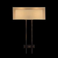Fine Art Lamps 436450 Quadralli 2-light Bourbon Bronze Wall Lamp Fixture
