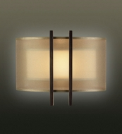 Fine Art Lamps 437150 Quadralli Bourbon Coupe Contemporary Sconce