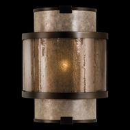 Fine Art Lamps 590550 Singapore Moderne Small Bronze Coupe Sconce Lighting
