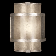 Fine Art Lamps 618050-2 Singapore Moderne Silver ADA Coupe Modern Sconce